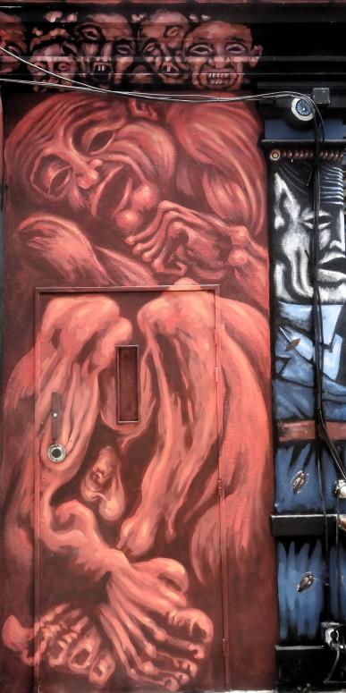 #Street-art-REMI-VAN-Ancienne prison-Nantes ©CuriousCat
